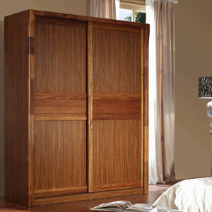 Made in China bedroom wooden sliding wardrobe factory directly