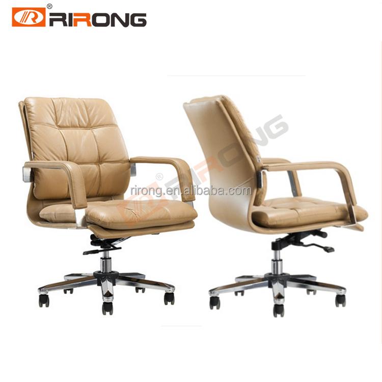 Venta al por mayor cuero genuino silla ejecutiva-Compre online los ...