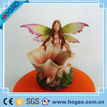 OEM Resin Fairy Tail Figurines Wholesale For Garden Decoration