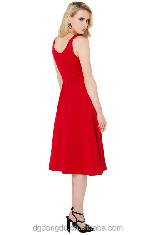 Venta de vestidos rojos elegantes
