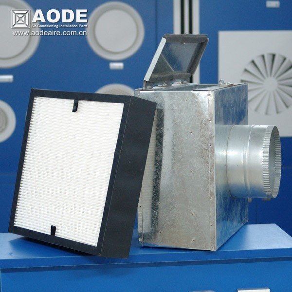 Duct Mounted Air Conditioning Intake Filter Box
