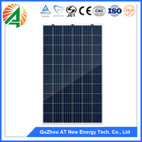 China best PV supplier 5bb poly solar panel 260w solar energy
