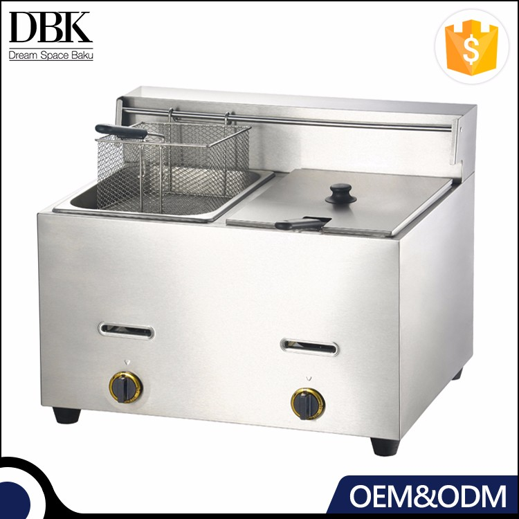 Counter Top Commercial Gas Deep Fryer