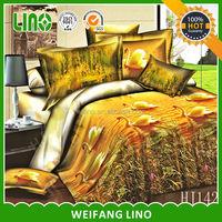 100% polyester 3d printed kids horse bedding/designer duvet cover sets/girls quilt cover