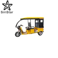 best cheap electric tricycle for adult / three wheels passenger electric tricycle