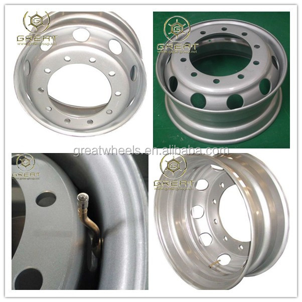 Truck Steel Wheel Rim In Toyota Coaster Bus Wheel For Sale