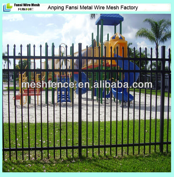 Solid Pvc Wrought Iron Metal Garden Fence Panels And Gate Ornament Designs  Cost For Villa