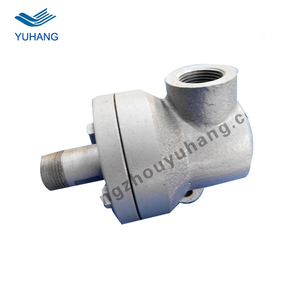 High temperature steam rotary union for dryer machine
