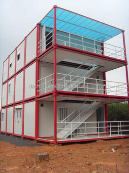 Multi-storey living container modular hotel room for sale