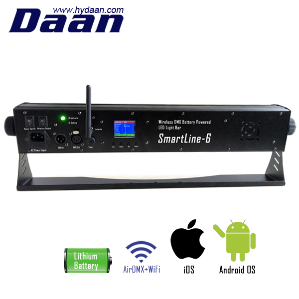 Indoor Stage Wedding Club Battery Powered Wireless Dmx Led Bar Buy