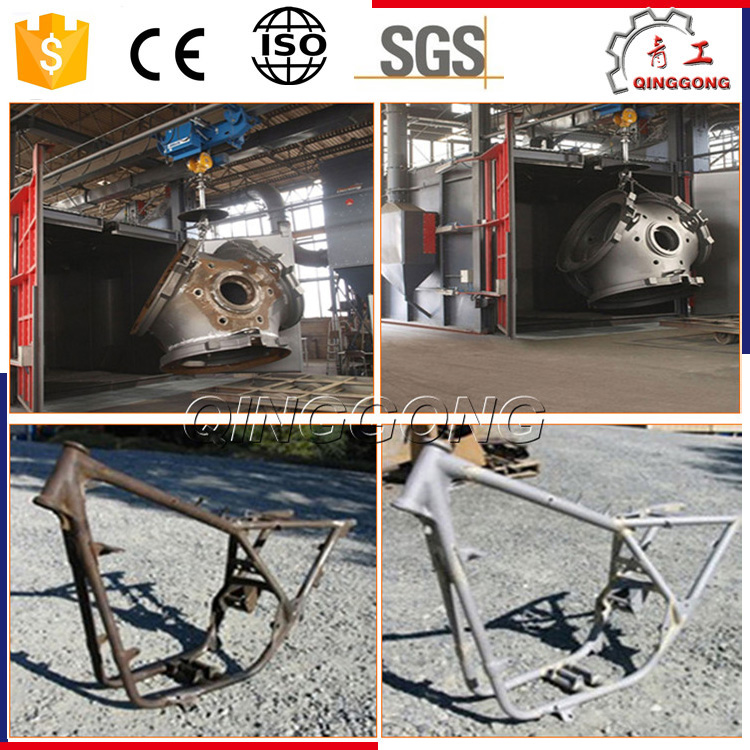 China Factory Supplier Hook Type Shot/Sand/Abrasive/Grit Blasting Equipment/ Descaling Machine at Sale