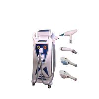 Professional 360 Magneto OPT + E-light + Laser + RF hair removal/skin rejuvention beauty machine