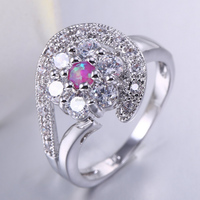 custom made stainless steel jewelry manufacturer 925 silver diamond ring from china supplier