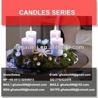 vegetable wax candle