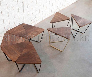 Triangle Coffee Table Wood.Modern Sectional Wooden Coffee Table Triangle Conference Table Sz Mte306 Buy Sectional Table Modular Table Coffee Table Product On Alibaba Com