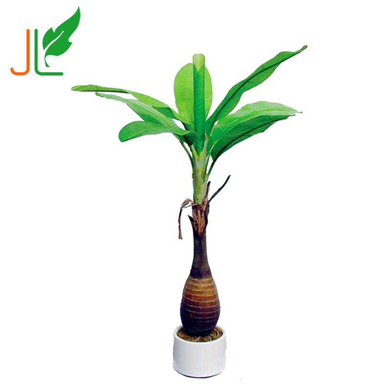 Best Selling Customized Artificial Banana Bonsai Tree for Sale