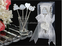 I Do, I Do Hors d'oeuvre Picks Stainless Steel Fruit Forks Wedding Favors