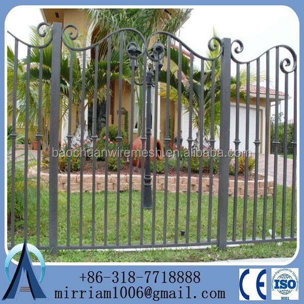Zinc Steel Ornamental Iron Tubular Fence in Garden,Home,Factory,School ,Villa(Factory & Exporter)