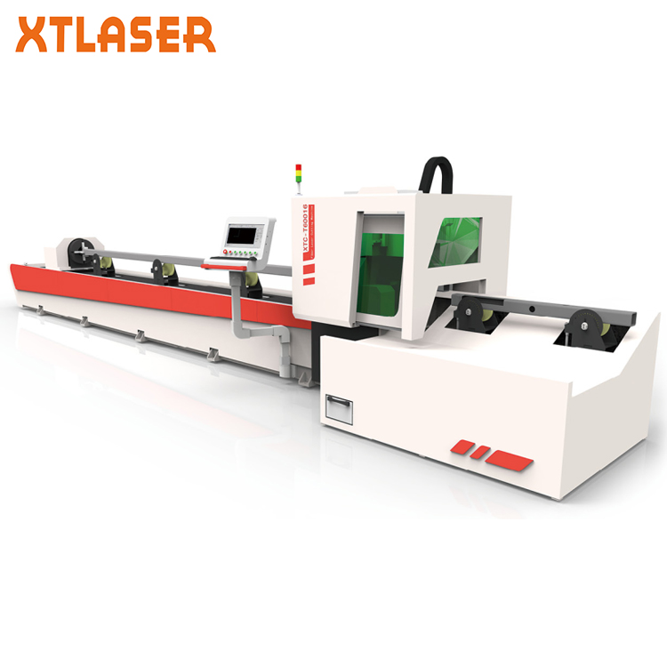 Metal tube pipe fiber laser cutting machine for turkey medical supply companies