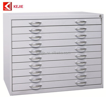 Factory 3 Main Lines 5 Drawer Blueprint Flat File Cabinets Metal Plan A1  Storage Cupboard