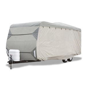 Classic A Travel Trailer Cover Lightweight Ripstop and Water Repellent RV Cover