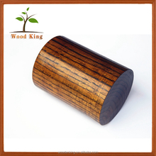 Hot Selling Factory Wholesale Solid Wood Hollow Out Chopsticks Tube Handcrafted Mini Custom Wooden Cup