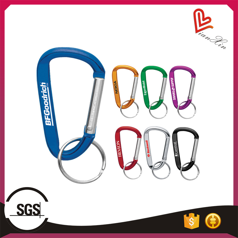 Promotional Printed Keychain Carabiner