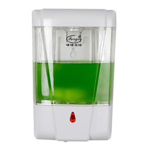 Battery Operated Automatic Foam Soap Dispenser Plastic Auto Foam Pump Soap Dispenser