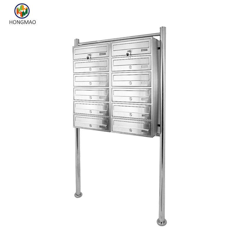 China supplier custom commercial mailboxes for sale , letter box
