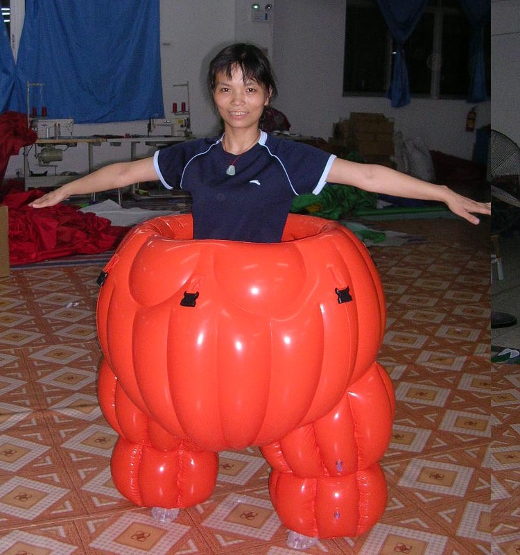 Inflatable Sumo Suits Video