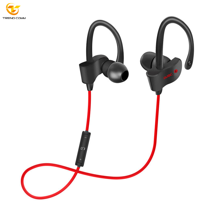 Sport Wired Waterproof Earbuds with Mic Mini Neckband Wireless Earphone