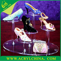 2015 Magic Products Acrylic Shoes Display Stand, Perspex Shoe Display