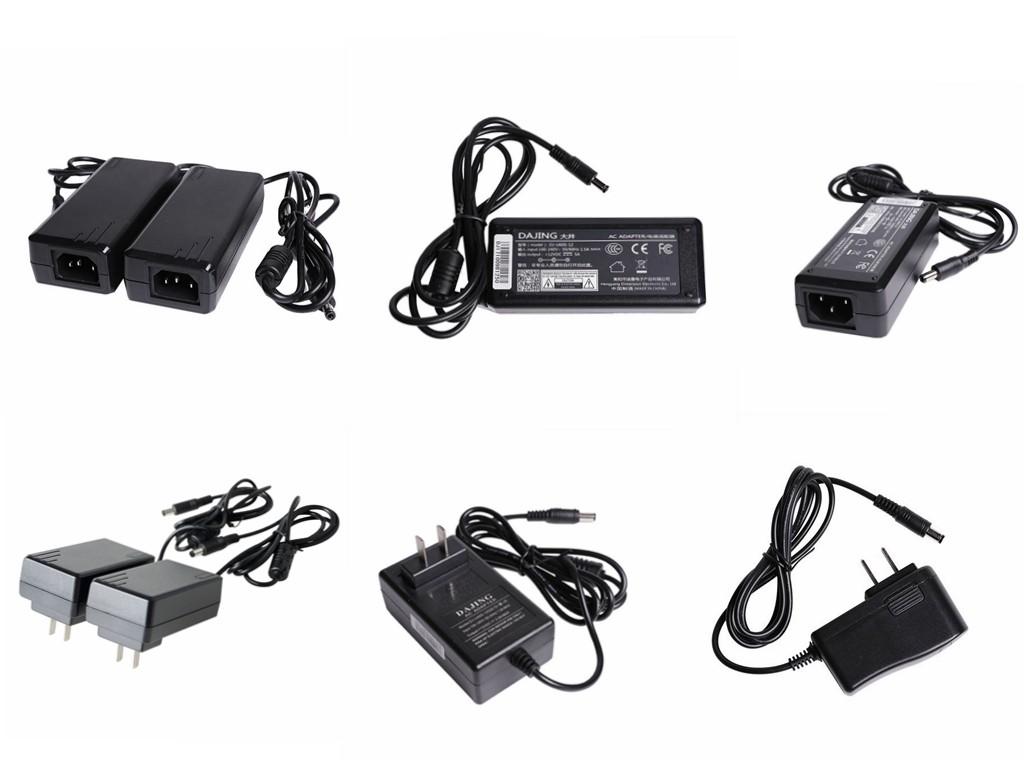 24 V 4A AC/DC Adaptor untuk Monitor LCD Switching Sumber Daya Listrik Adaptor