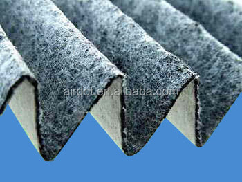 Three-layer Sandwiched Activated Carbon Roll Filter Media
