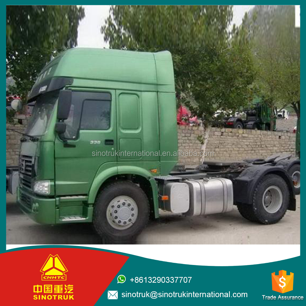 sinotruk truck 4*2 Left/Right Hand Driving 380HP sinotruk howo tractor truck series for sale with low price