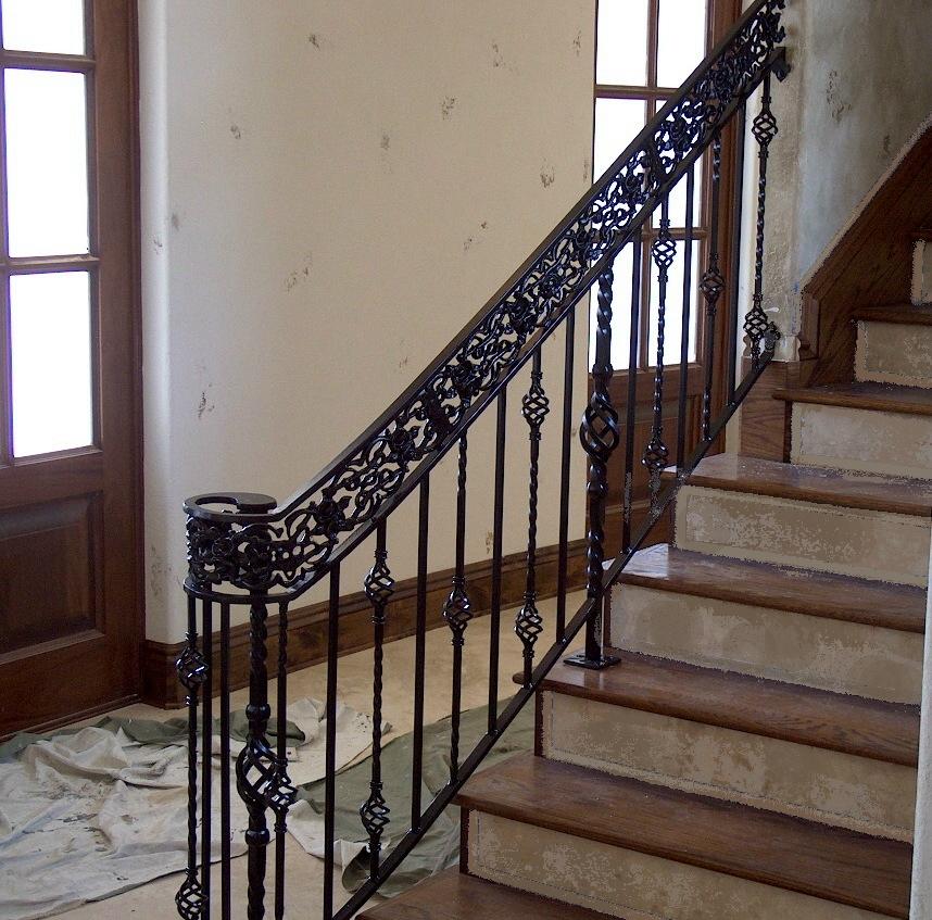 Stair Railing Sale,Stair Black Paint Iron Railing,Railings