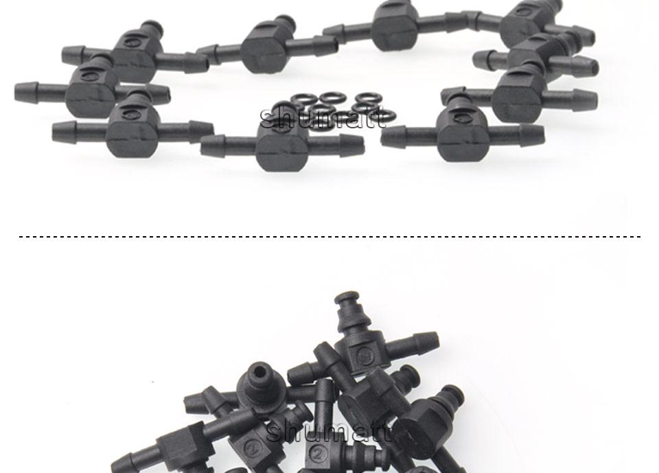Bosch 110 diesel common rail injectors oil backflow pipe t-style  plastic tee joint fitting 10pcs (5).jpg