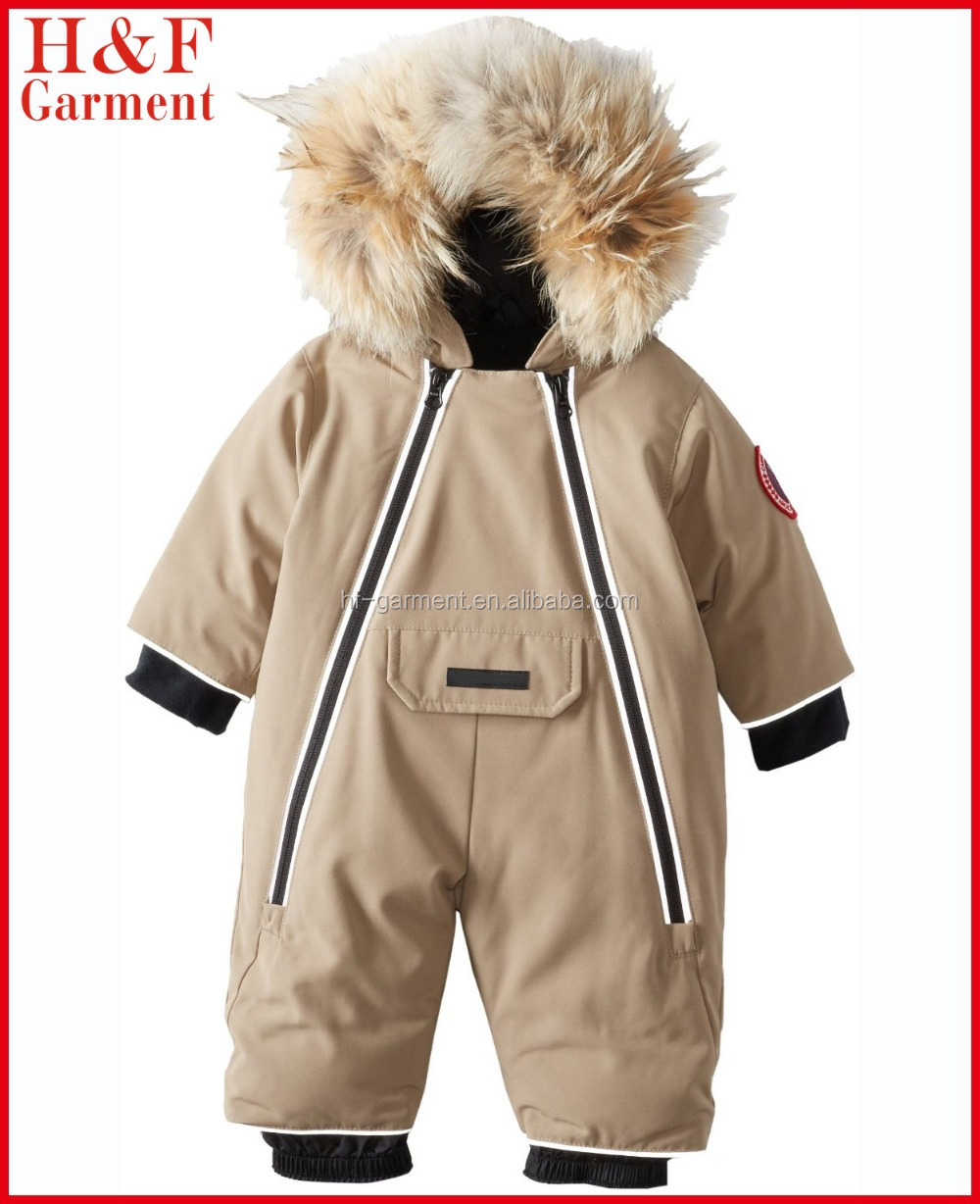 972e0d3861a8 Infant Toddler Snowsuit Coveralls Insulated Hooded Custom Logo - Buy ...