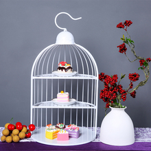 TYDGJ-003 Birdcage For Cupcake In Decorating Tools Wedding Sweet Dessert Table Supplier Baker Showcase Cake Stand