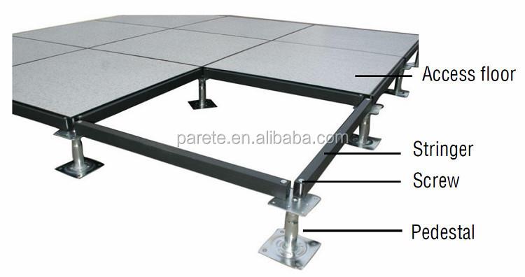 Parete Steel Rasied Floor With Adjustable Pedestal