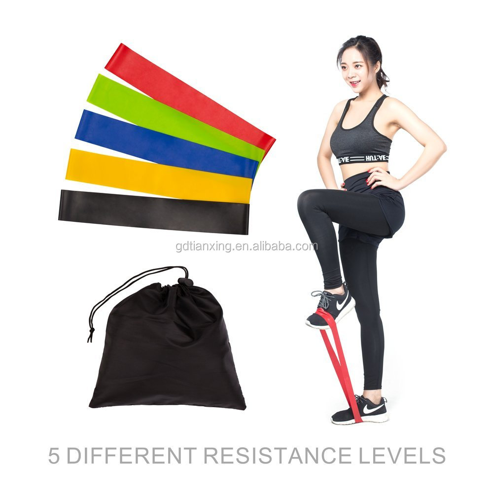 Sports exercise Resistance Loop Band with high quality and high elastic