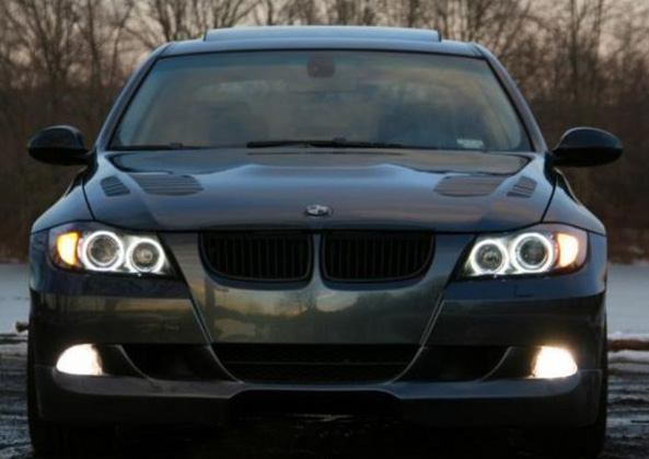 Bmw e87 angel eyes headlights-4524