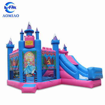 Hot sale custom inflatable frozen jumping bouncy castle for sale