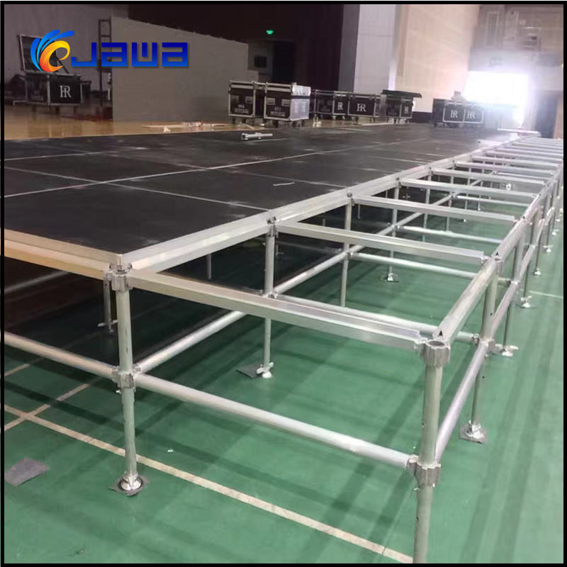 Asia used stage for sale steel stage portable stage truss