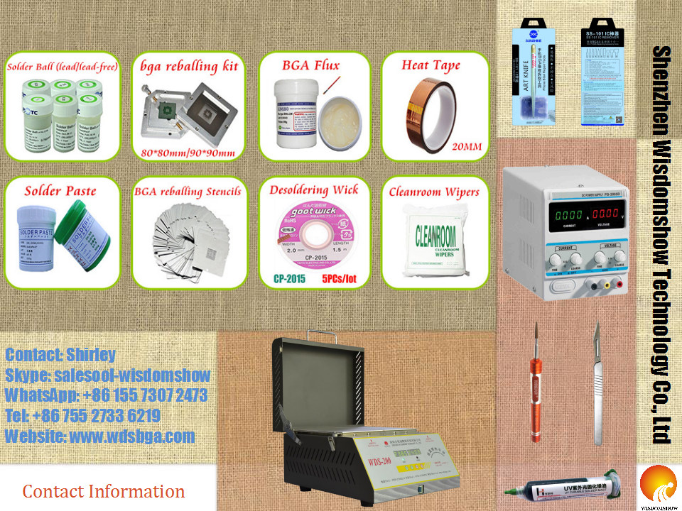 bga reballing kits
