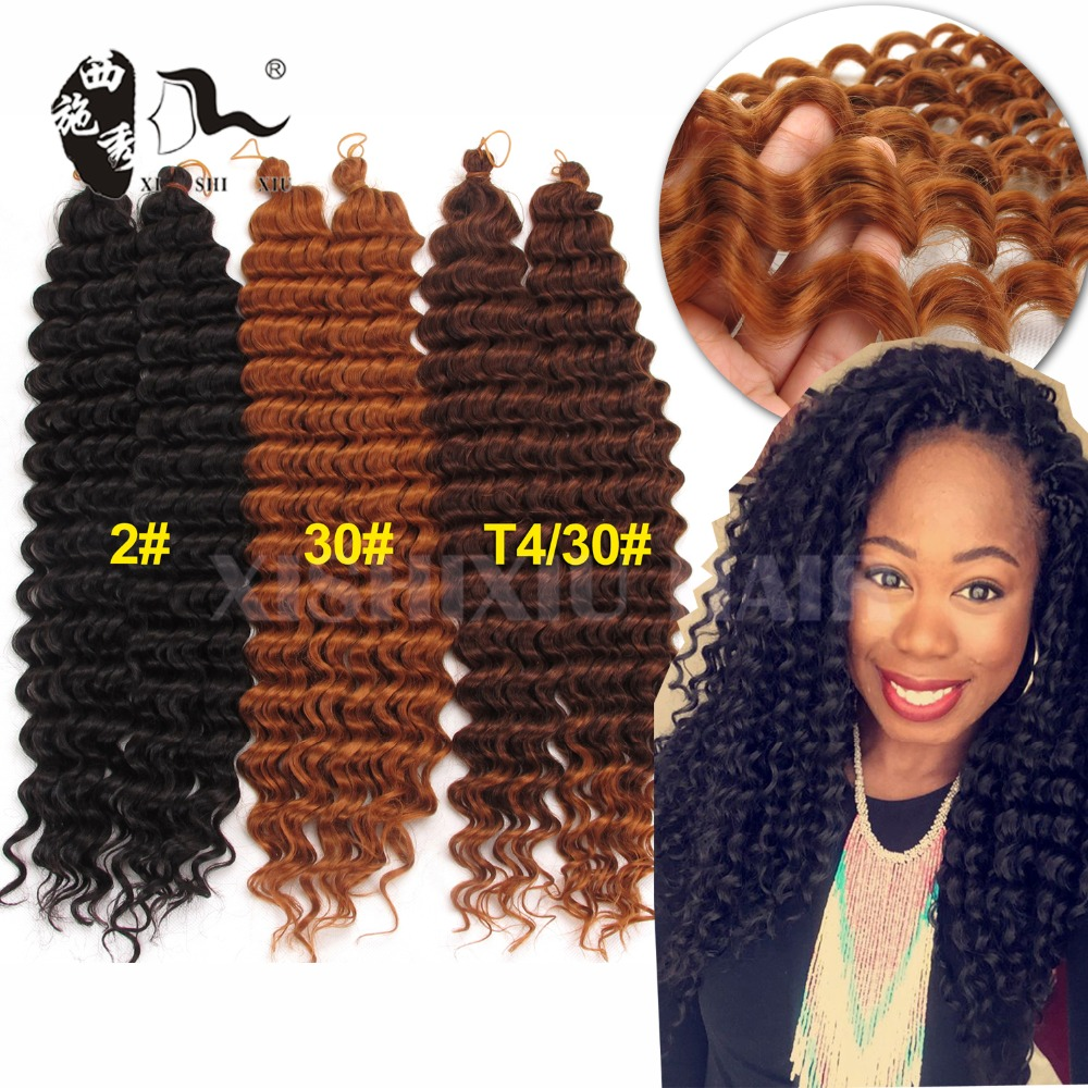 Crochet Freetress Deep Twist Braiding Hair Crochet Hair Bundles