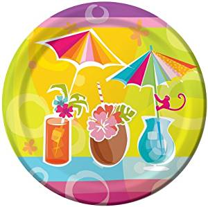 """Happy Hour Party 9"""" Lunch/Dinner Plates"""