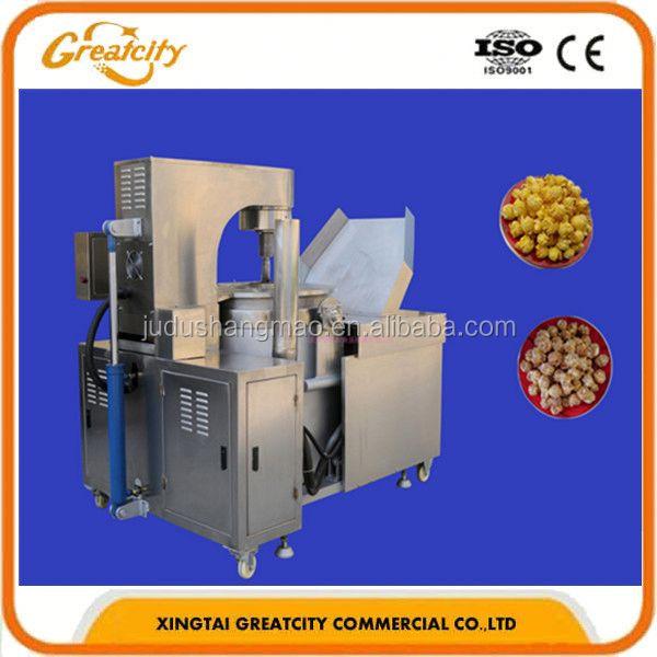 popcorn machine used