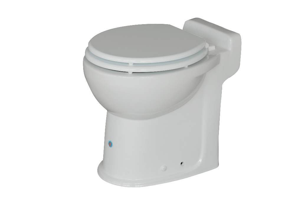 220v 240v Electric One Piece Toilet Wc53 Builded Macerator