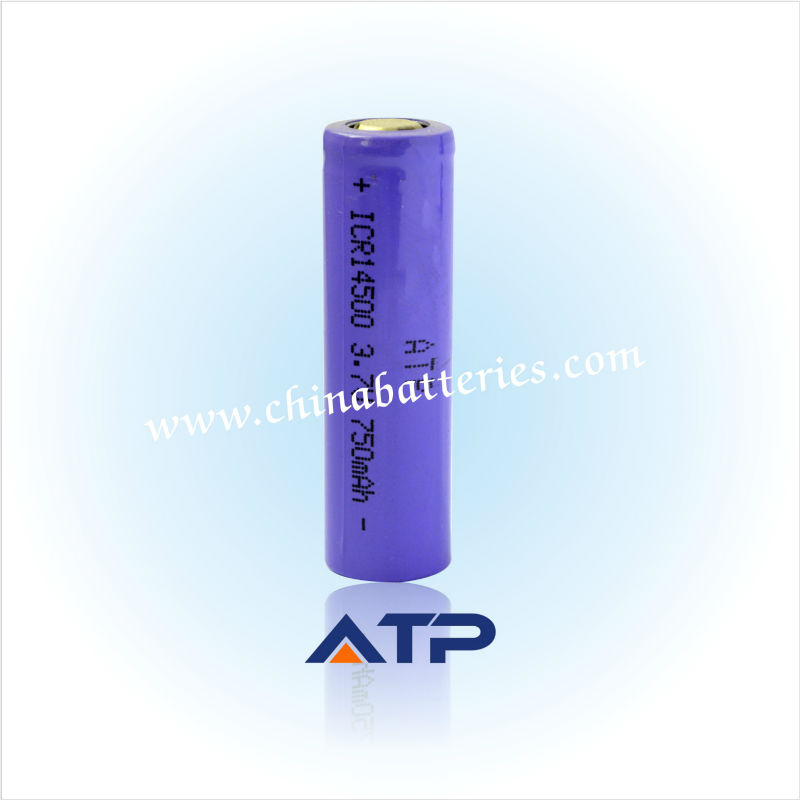 Wholesale 14500 battery for disposable digital camera battery / 3.6v 750mah li-ion rechargeable battery